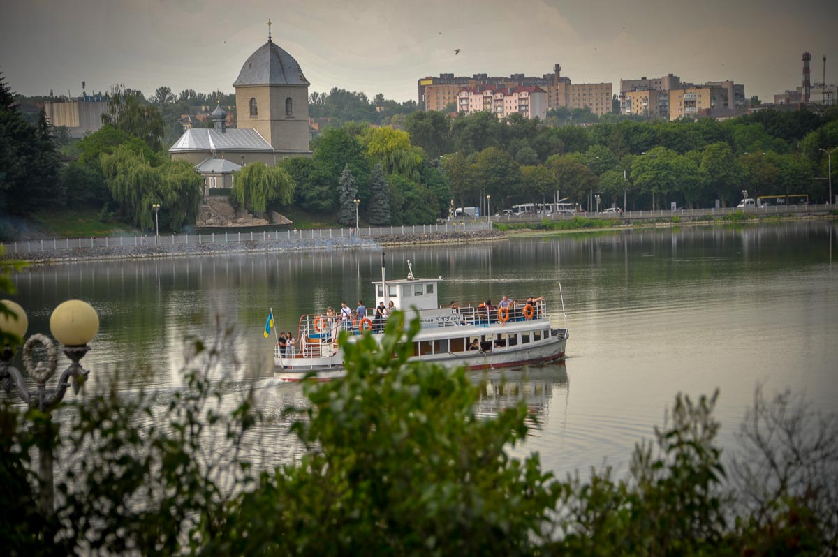 Guided tour in Ternopil
